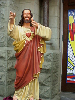 Buddy Christ, Cristo compagnone