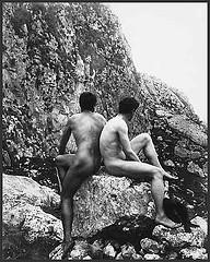 Wilhelm von Gloeden, Nudo maschile, 1900 ca