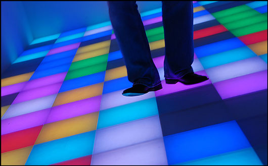 Piotr Uklanski, Untitled (Dance Floor)