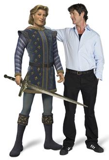 Rupert Everett la voce del Principe Azzurro in Shrek