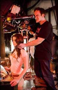Vanessa Ferlito e Quentin Tarantino